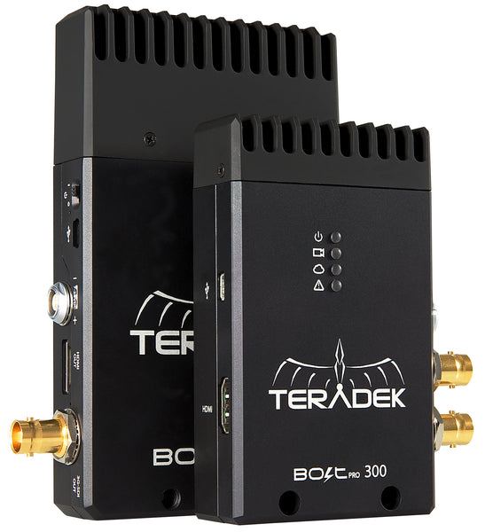 Teradek Bolt 300 transmitter and receiver