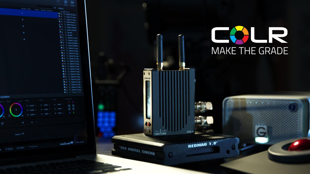 Teradek COLR offers live color correction on set