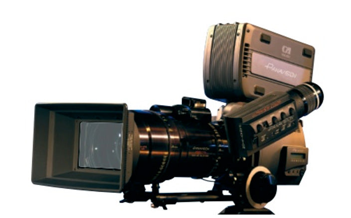 Panavision's Genesis camera, one of the first to allow real-time color processing.