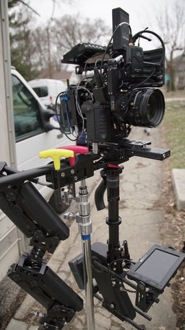 """The Good Catholic"" RED Epic Dragon on gimbal with Teradek Bolt 300 for indie film production"