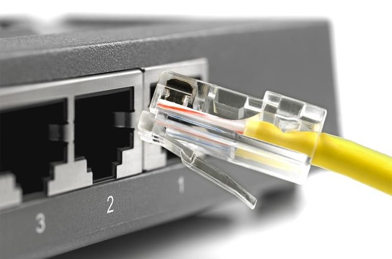 Ethernet connections are safer than wireless connections