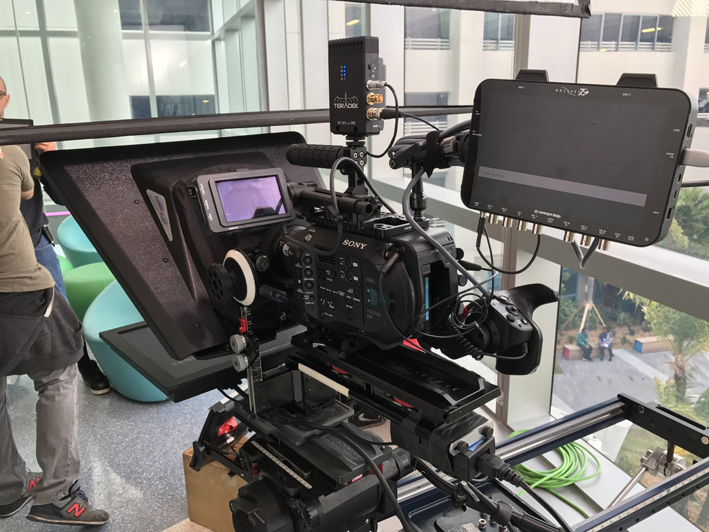 N2 Productions camera rig with Teradek Bolt