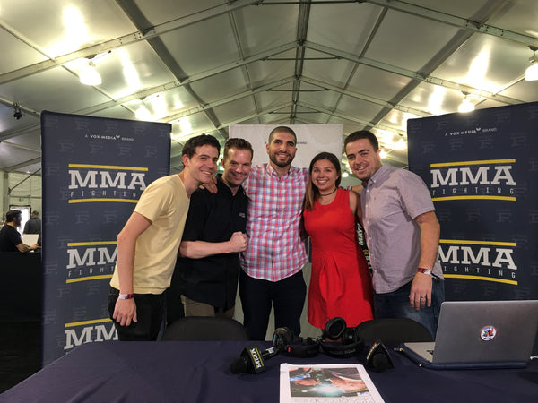 MMA Hour with Ariel Helwani streamed with Teradek Bond