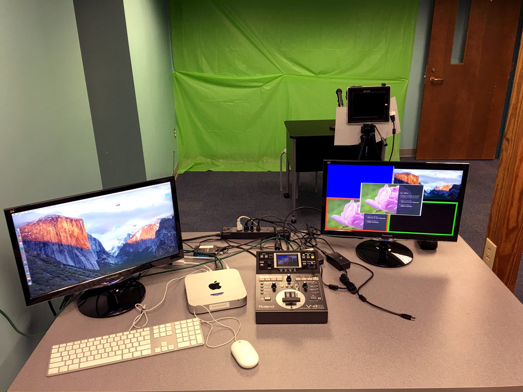 Isle of Wight County Schools uses Teradek Cubes for their morning announcement system.