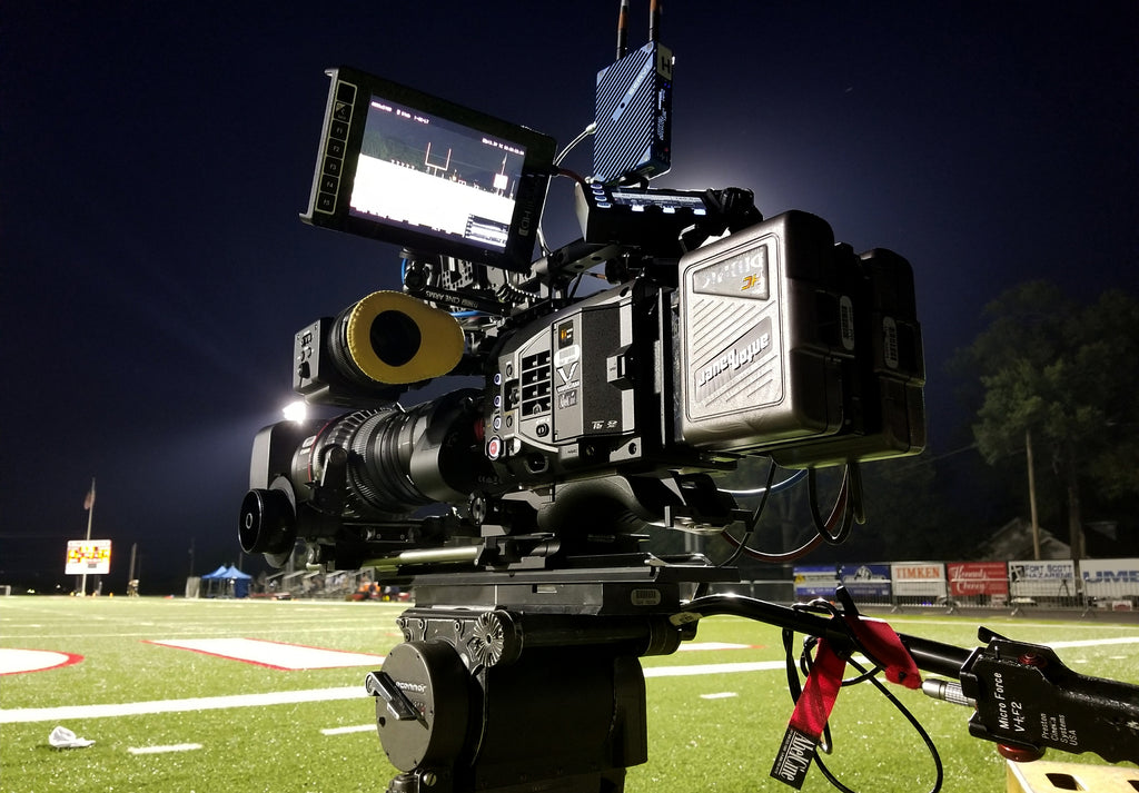 Varicam LT with Teradek Serv Pro on Last Chance U for Netflix