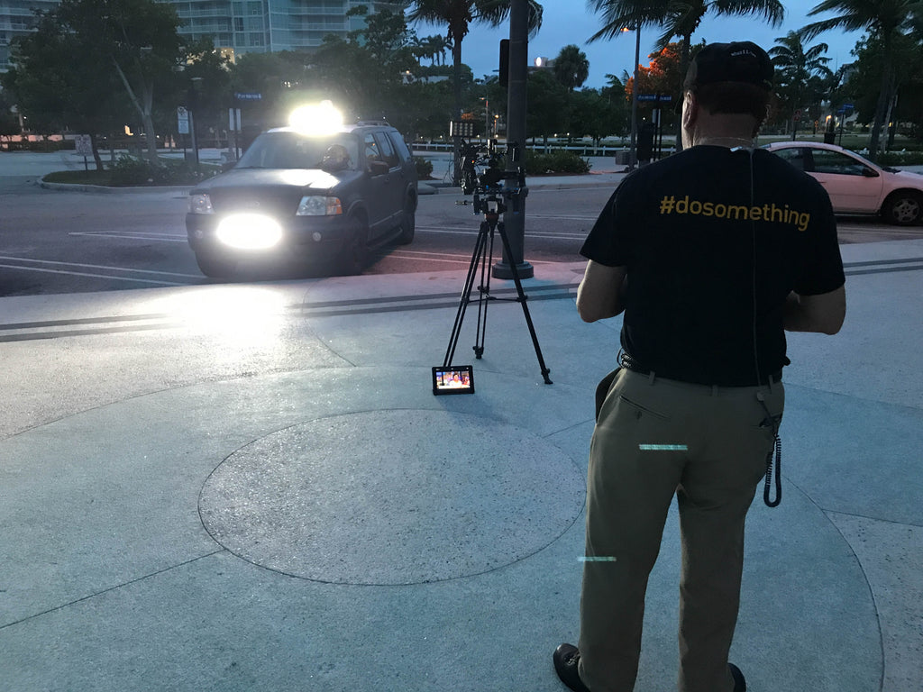 Broadcasting from Fort Lauderdale with Teradek Bond