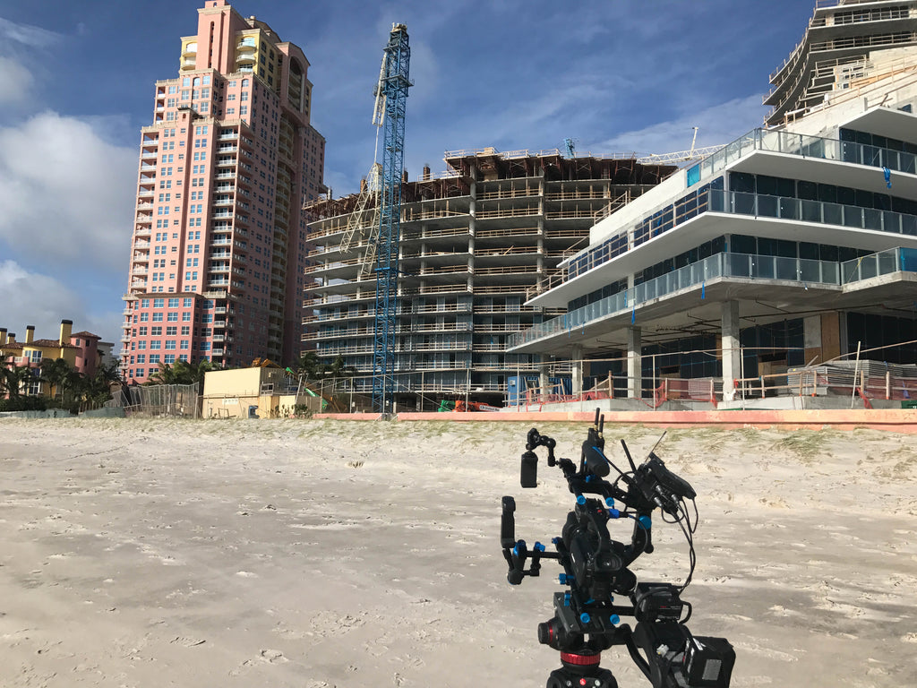 John Humphress' Teradek Bond in Fort Lauderdale before Hurricane Irma made landfall.