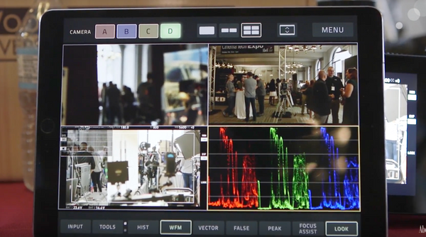 Teradek VUER comes with a suite of professional on-set monitoring tools.