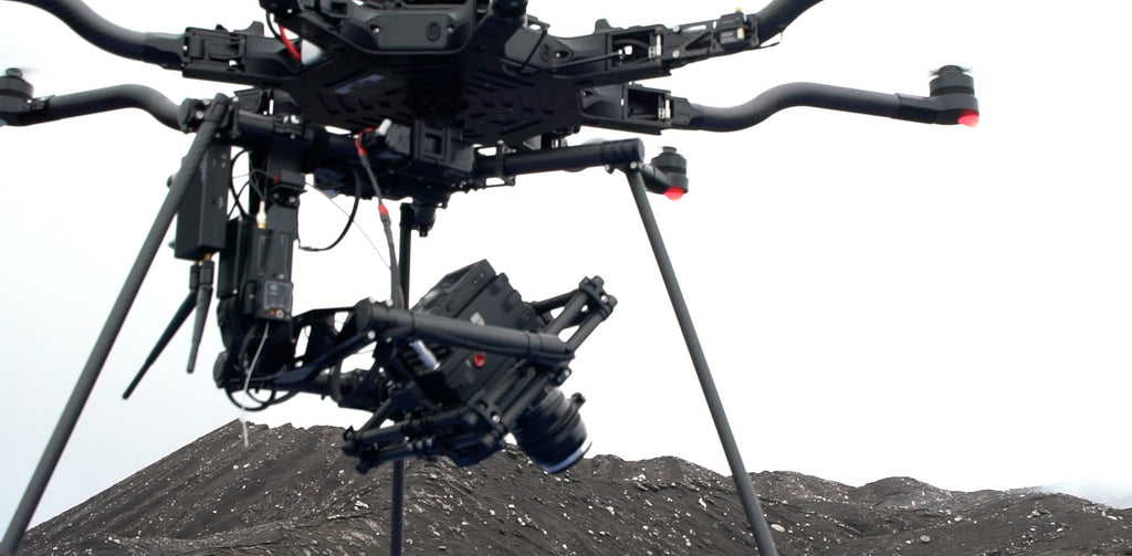 Alta 8 drone with MoVI M15 and Arri Alexa