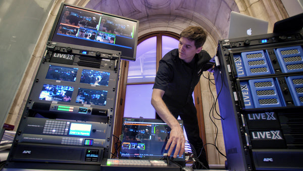 What An Enterprise Live Streaming Setup Looks Like with Live X