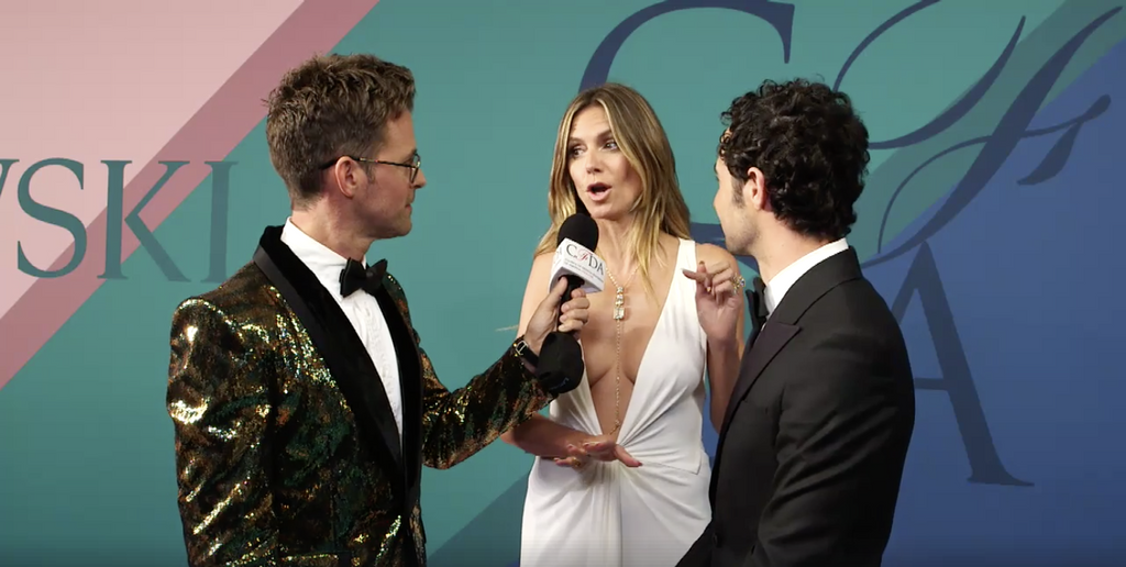 Teradek Bond II used to live stream from CFDA Fashion Awards