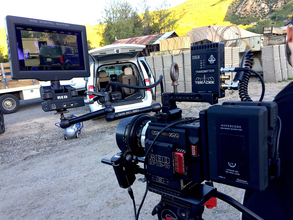 Capitola Media's Red Epic W with Teradek Bolt