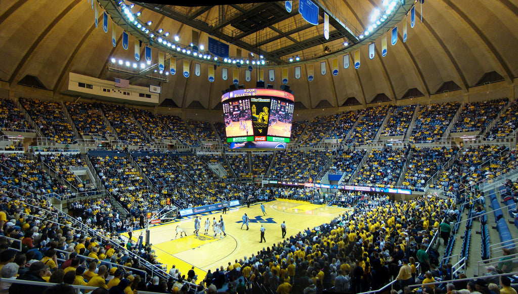 West Virginia University basketball video production with Teradek
