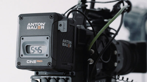 The best cinema camera battery for wireless camera rigs.