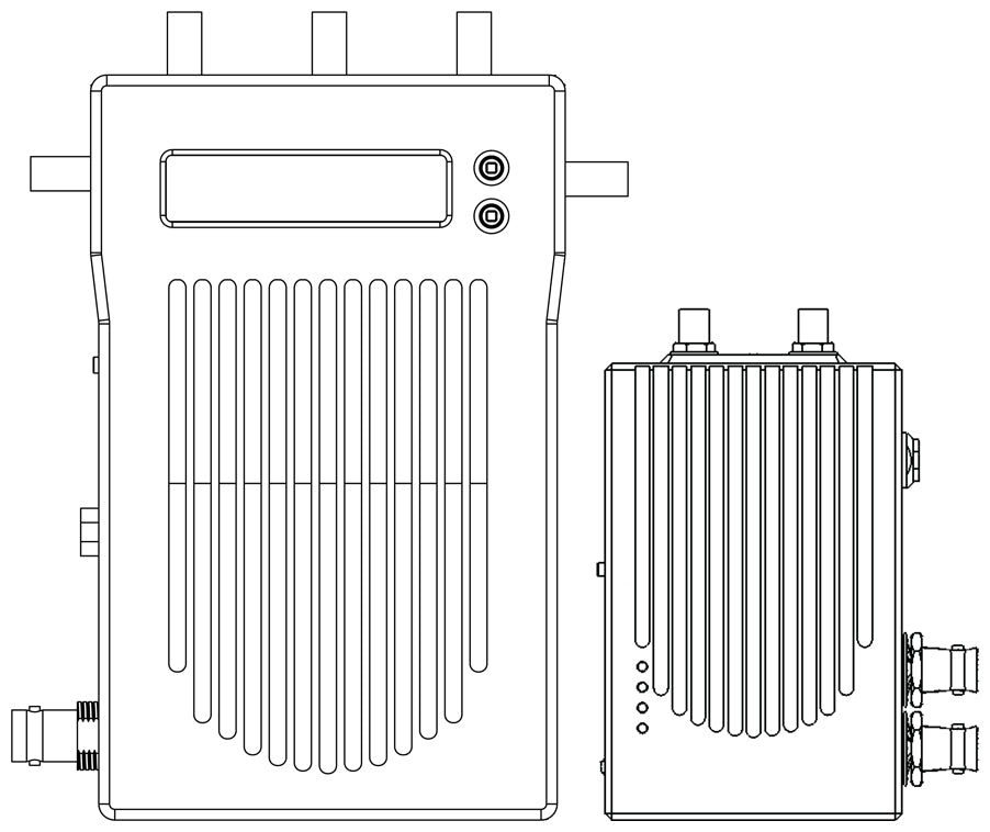 schematic drawings of Bolt to showing its rugged design