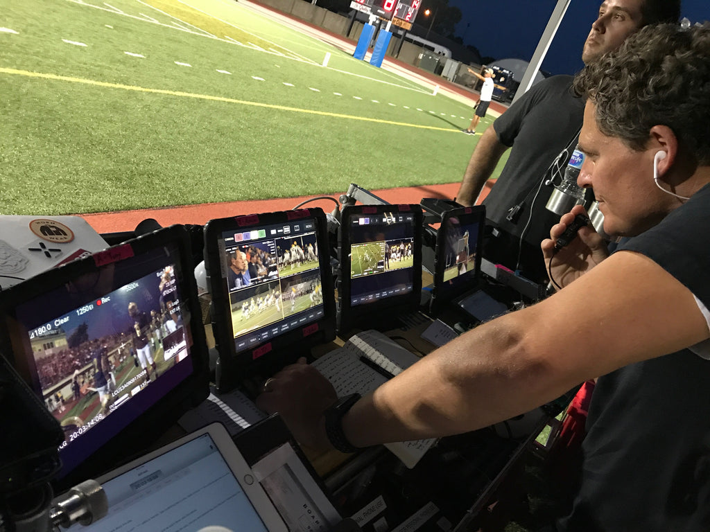 Teradek VUER with Serv Pro on set of Netflix's Last Chance U