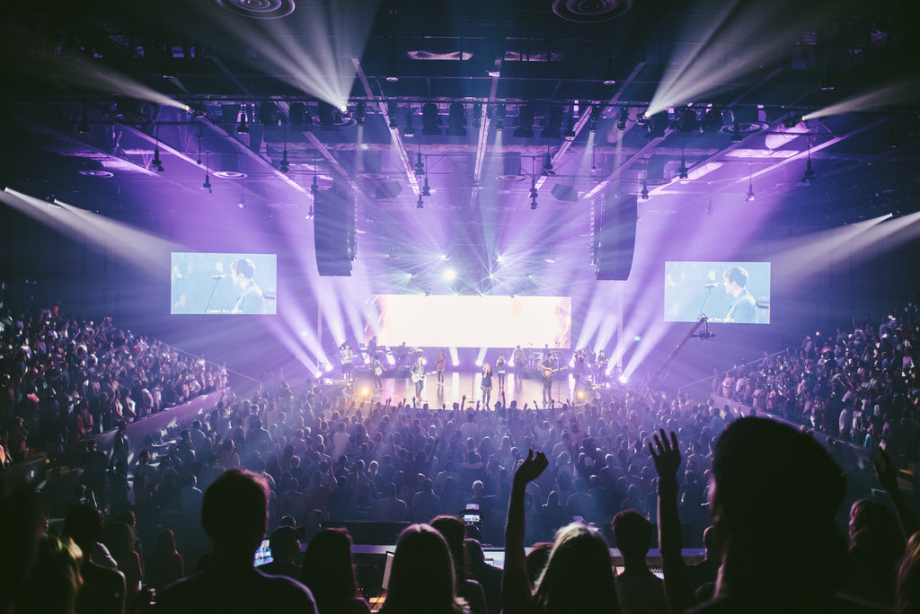 Elevation church has one of the biggest production teams in the church industry