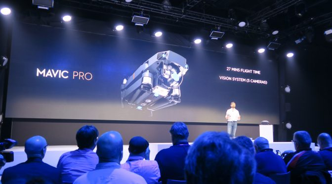 Live X streams DJI's Mavic Pro Event