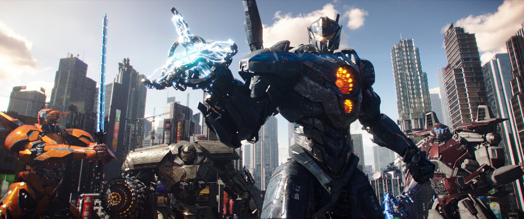 Pacific Rim Uprising behind the scenes visual effects