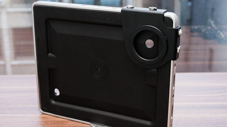 Special iPad cases made for mobile journalism