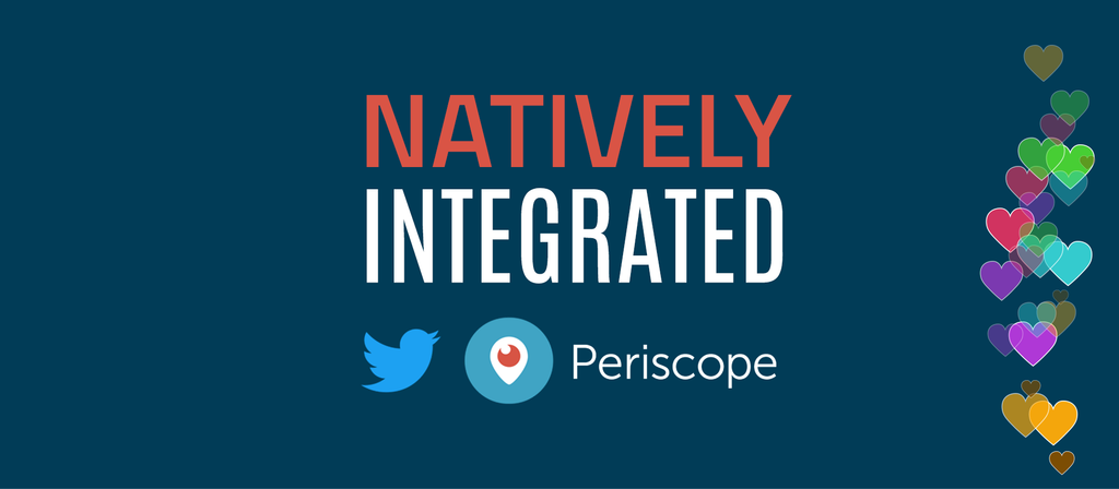 Periscope native integration with all Teradek encoders