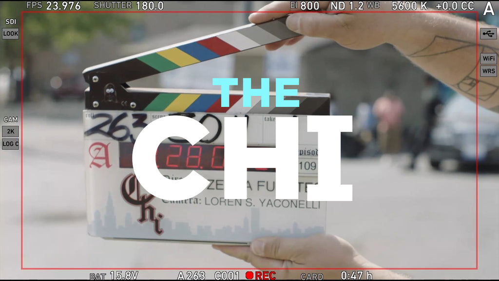 The Chi TV show filmed with Teradek Serv Pro iOS monitoring