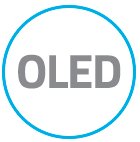 OLED logo to display