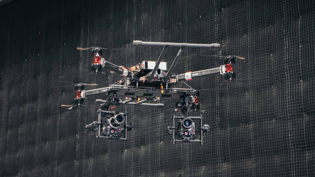 XM2 custom drone used on set of Pirates of the Caribbean