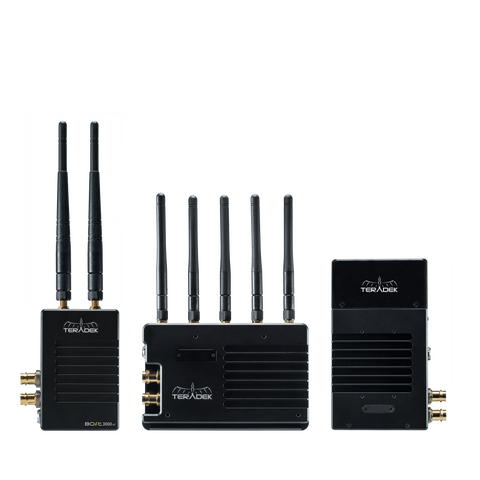 Bolt 3000 XT SDI/HDMI Wireless TX/RX Deluxe Kit + Sidekick XT RX