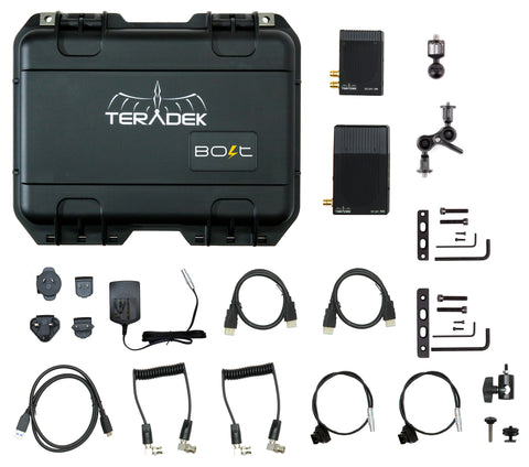 Bolt 500 Deluxe Kit SDI/HDMI Wireless Video Transceiver Set