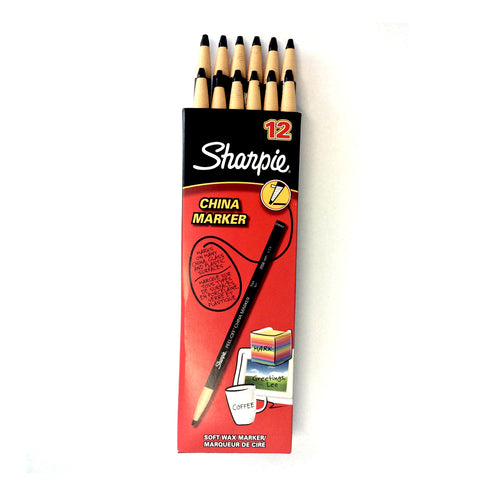 Sharpie China Marker, 12pk - Catalogue #6351