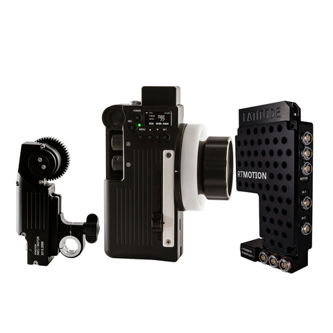 Latitude Sidekick 3-Channel Wireless Lens Control System | 4-Axis Controller | RED Camera Control