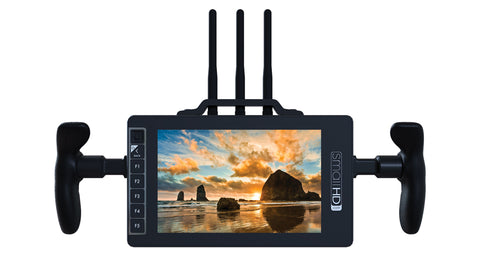 703 Bolt Directors Bundle - 7-inch Wireless Monitor with Directors Handles & Battery Plate