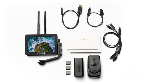 FOCUS Bolt 500 TX - 5-inch Daylight Viewable Touchscreen with Built-in Teradek Transmitter