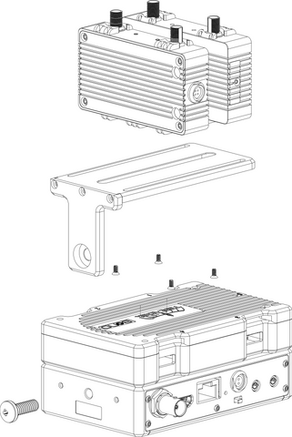 Node Mounting Bracket - Top Plate - Mount For Bond and Nodes