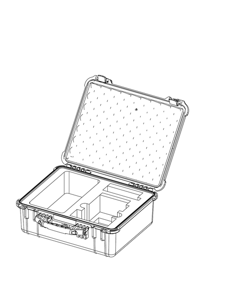 Protective Skb Case For Bolt Xt Sets Up To 2 Rxs