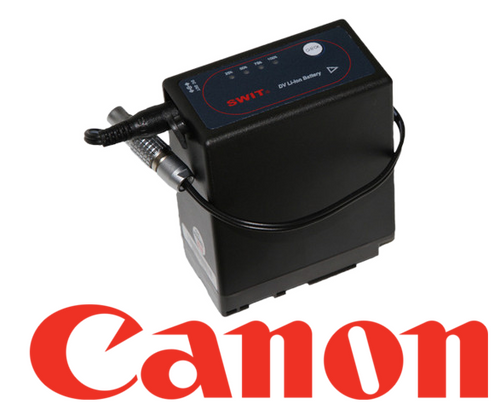 Battery - Canon BP-945/970 / 10 inch Barrel Adapter to 2-Pin Connector