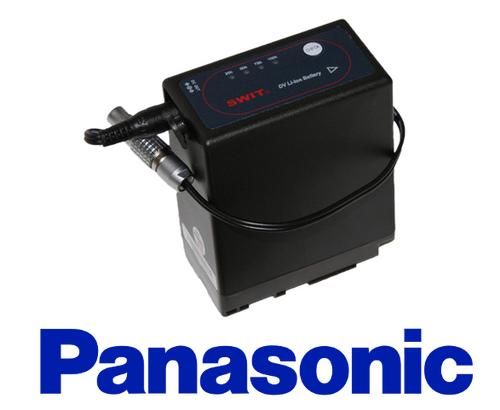 Battery - Panasonic D54 / 10 inch Barrel Adapter to 2-Pin Connector