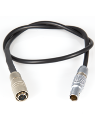 12 inch 2-Pin Connector to 4 pin Hirose Cable