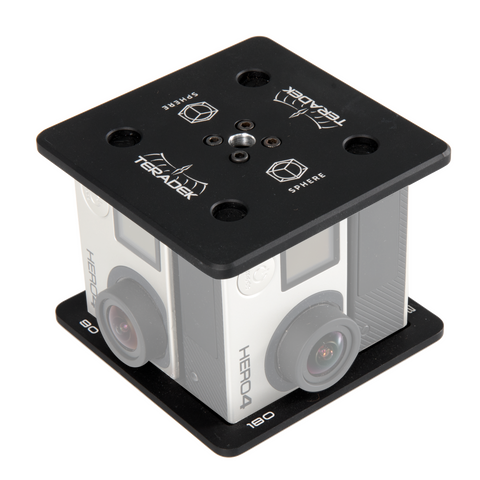 GoPro Hero4 VR Camera Mount Kit for Sphere