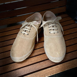 Lupo Lace-up Khaki Espadrilles