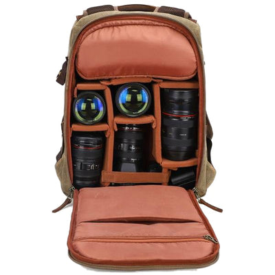 Adventrek BP 250, DSLR Camera Bag/Backpack - Shutter & Contrast
