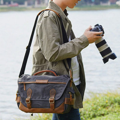 Antero MB 120, DSLR Camera Bag/Backpack - Shutter & Contrast