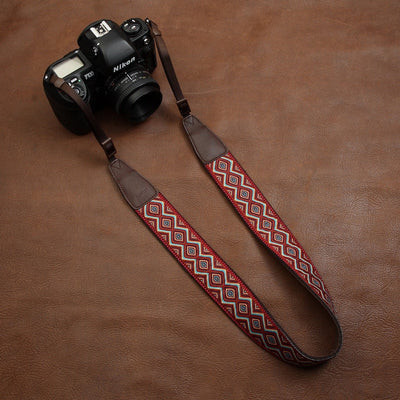 Embroidered Shoulder Strap