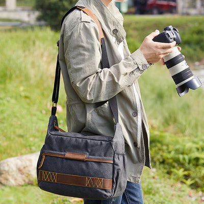 Expedition DSLR Shoulder Bag, DSLR Camera Bag/Backpack - Shutter & Contrast