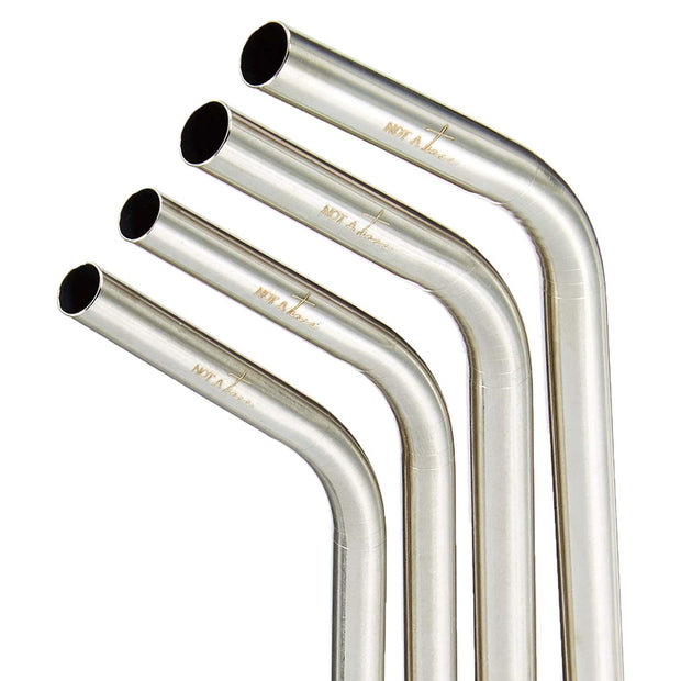 Stainless Steel Straws Pack of Four