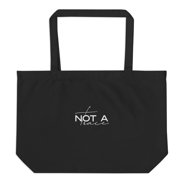 Large Organic Tote Bag - Protect Our Ocean