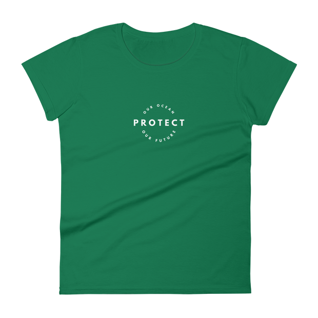 Dolphin Protect Our Ocean Women's T-shirt