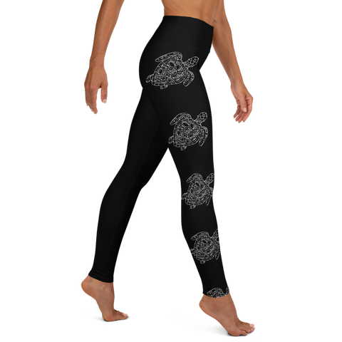 Turtle Yoga Leggings