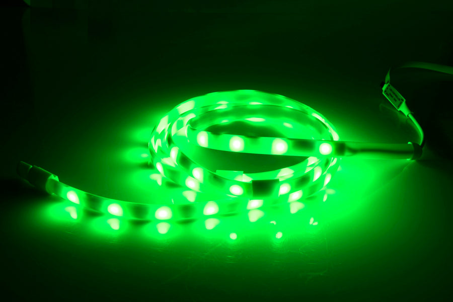 Outdoor Waterproof Multi Colored LED Light Strips with Remote - 3ft, 5ft, or 10ft